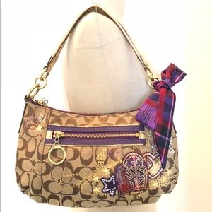COACH Poppy limited edition small shoulder bag